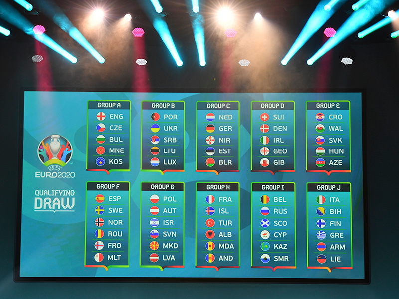 Calendrier Match Foot Euro 2020.Euro 2020 J Group Calendar Is Approved