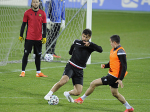 Armenian National team had a pre-match training ahead of match against Romania