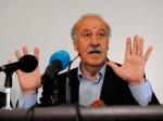 Vicente del Bosque met with journalists
