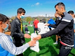 Armenian national team players met with children from Artsakh