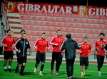 Armenia national team holds first training session in Gibraltar