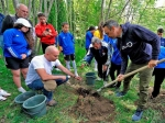 Kids of FIFA Foundation Campus – Armenia planted trees in Jrvezh forest park