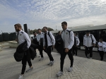 Armenia national team arrives in Gibraltar