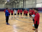 Armenian futsal national team had the first training