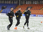 Armenian National team had a pre-match training ahead of match against Iceland