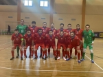 Armenian Futsal national team beats Italy