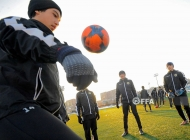 Armenia U-15 team training session 11.02.2020