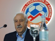 Vicente del Bosque's lecture to Armenian coaches