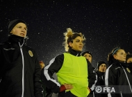Armenia women's national team first training session 08.02.2020