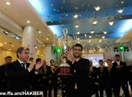 Alashkert awarded with medals and Champions Cup