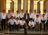 Armenian futsal awards ceremony 2016