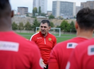 Third day of Armenia national team training session