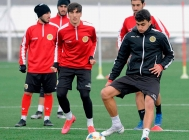 Armenia Under-19 team training session