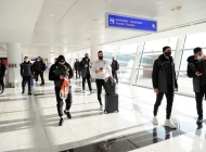 Armenian national team arrives in Tbilisi