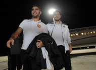 Armenia national team arrives in Italy