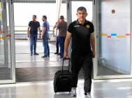 Armenia national team left for Greece