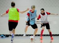 Armenia women's futsal national team training session