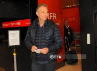 Armenia national team new head coach Joaquin Caparros arrives in Yerevan