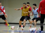 Armenia futsal national team training session 14.01.20