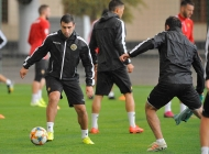 Armenia national teams' first training session