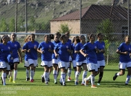 Armenia Women's U-19 team is prepearing to European championship