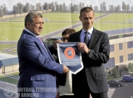 Official visit of UEFA President Aleksander Ceferin to Armenia