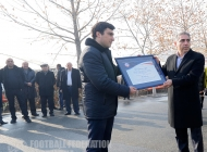 Opening ceremony of two artificial fields was held at Banants FC