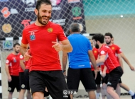 Armenia futsal national team training session