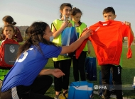 Event in Football Academy for children from Artsakh