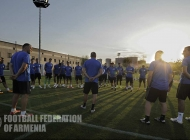 Armenian national team training session - 28.08.2017