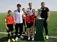 International tournament start begins in Vagharshapat Football Academy