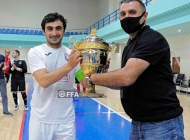 Armenia futsal Superleague. Leo - Ararat-Armenia 6:5