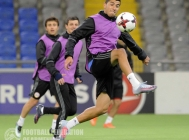 Armenian national team pre-match training session in Astana (07.10.17)