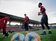 Pre-match press-conference and Armenia national team training session