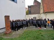 Armenian national team players visit Armenian church in Tallinn