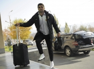 Armenia national team players arrive in Football Academy