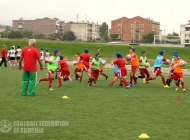 Mass Football Development Project in Lori