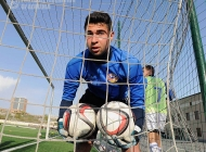 Armenia U-18 team training session