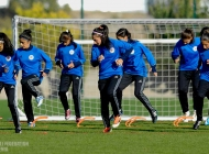 Womens Armenia Under-19 national team training-session