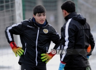 Armenia U-16 team training session