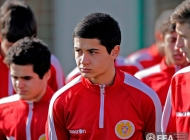 Armenia U-19 national team training session