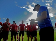 Armenia U-19 team continues preparing to EURO