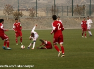 Armenia U-19 vs. Hunagry U-19 0:4