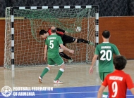 Charbakh-Leo. Armenia futsal championship 2nd final match