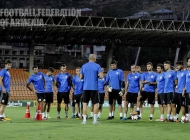 Armenian national team pre-match training session (03.09.2017)