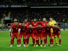 Armenia is 102th in FIFA/Coca-Cola World Ranking