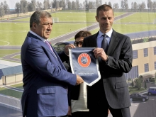 UEFA president Aleksander Ceferin makes official visit to Armenia (photos, videos)