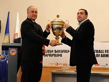 Armenian futsal and women's football awards ceremony took place