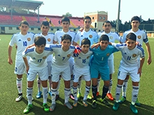 Armenia U-16-FYR Macedonia U-16 1:2